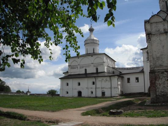 Ferapontovo, Russland: Храм Рождества Богородицы . Внутри фрески Дионисия