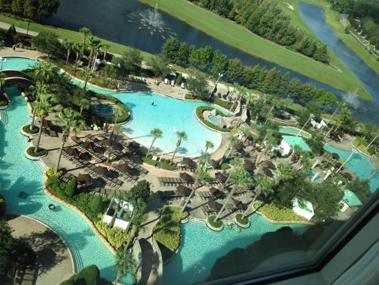 lagoon pool a breathtaking view from our room picture of. Black Bedroom Furniture Sets. Home Design Ideas