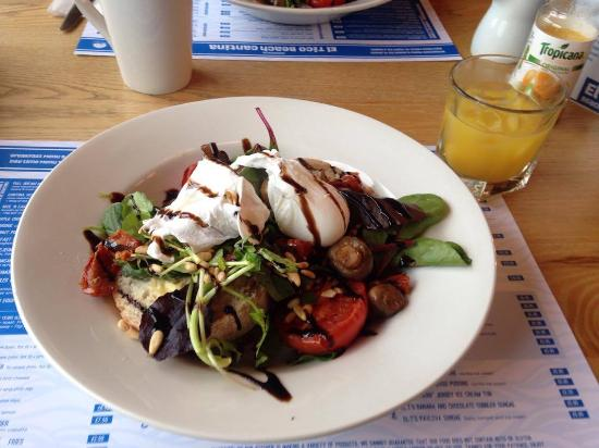 St. Peter, UK: Veggie breakfast