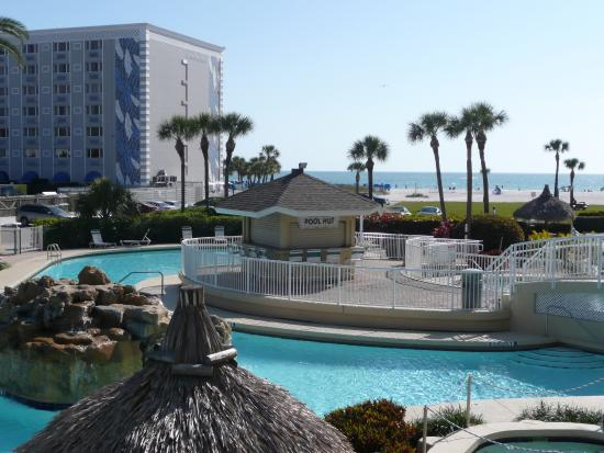 Coral Reef Resort: This is the larger of 2 pools, it is heated
