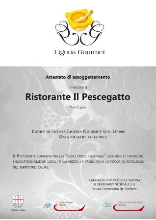 Vado Ligure, Italie : RISTORANTE GOURMET LIGURIA