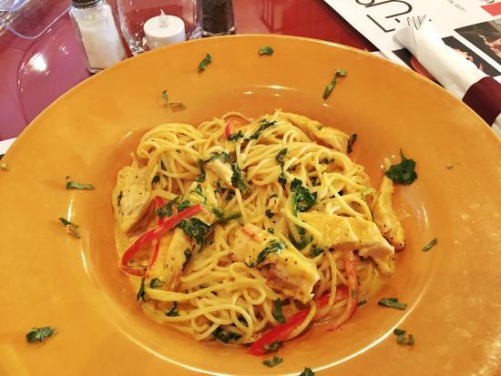 Fusion Latin Cuisine: Tasting aji Amarillo Pasta