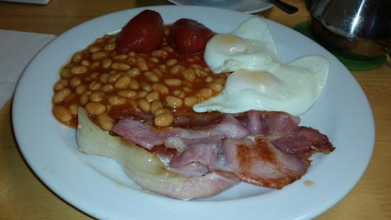 Belper, UK: Create your own breakfast, delicious