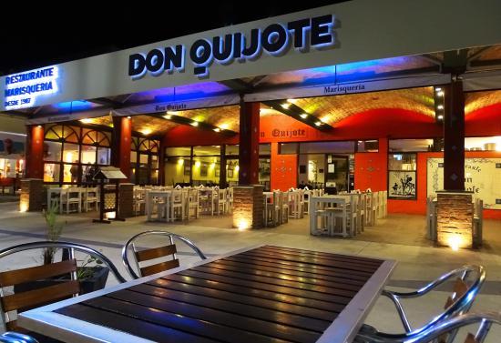 Restaurante Don Quijote: Vista de la pasiva