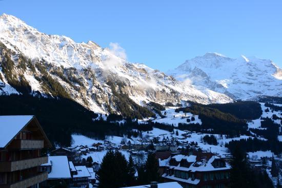 Alpenruhe Kulm Hotel: Ausblick