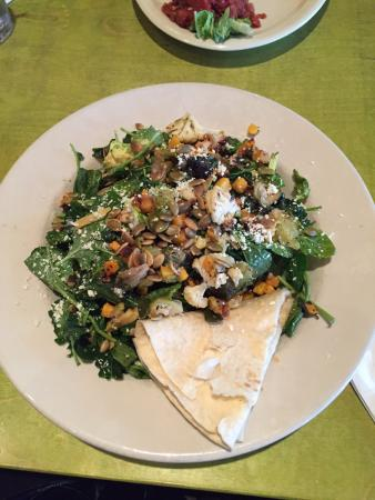 Cranberry Township, PA: Mad Mex Baby Kale and Winter Vegetables Salad with Lime Cilantro Dressing