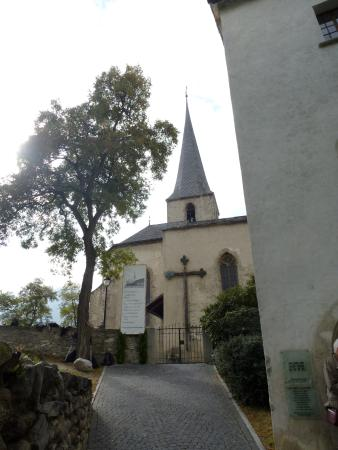 Raron, Switzerland: Burgkirche