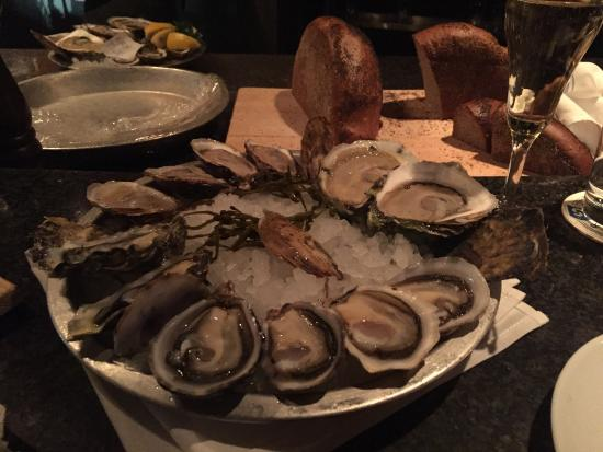 Amazing oysters and great service