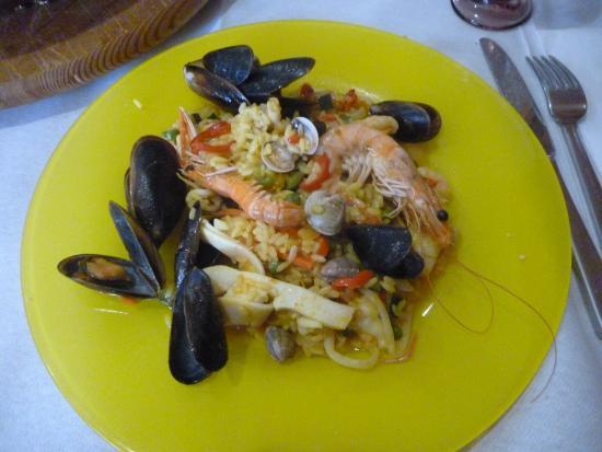 Marina di Ravenna, Itália: paella