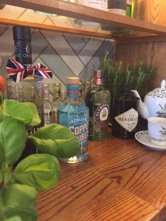 Yarm, UK: Our Gin selection
