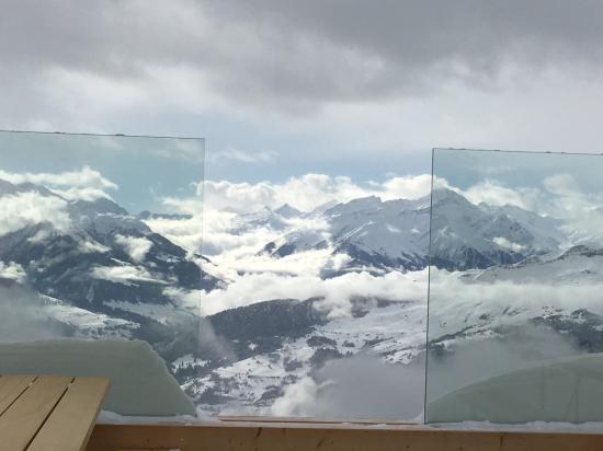 Ilanz, سويسرا: Bergrestaurant Alp Dado