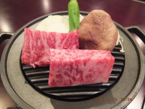 Matsusaka, Jepang: 飛騨牛 鉄板焼き