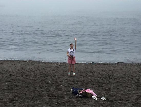 Udo: Black Volcanic beaches!