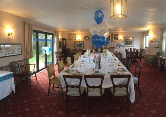 Clayton, UK: Function room and view to the West lawn