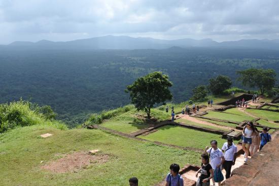 Citadel of Sigiriya - Lion Rock: Мы наверху - наслаждаемся - ух виды!!!