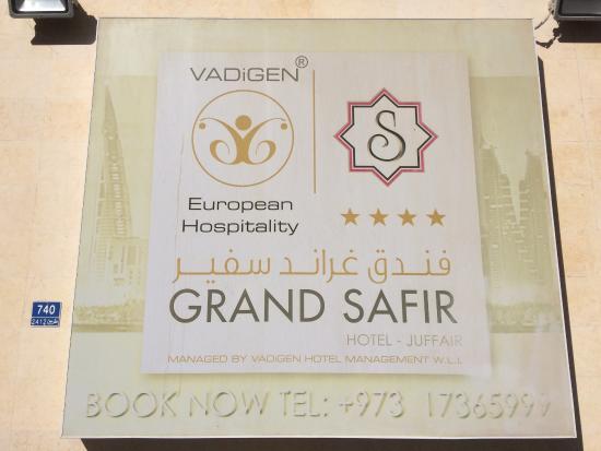 Grand Safir Hotel: Safir