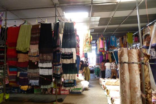 Quarter Bornes Textile Market