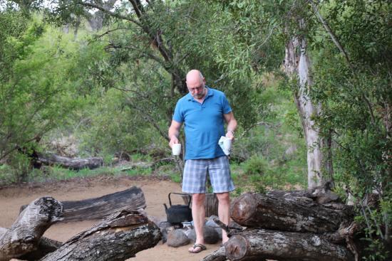 Manyeleti Game Reserve, Sudáfrica: Pungwe Bush Camp