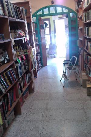 STACKS OF BOOKS TO READ ALMA LIBRE BOOKSTORE PTO MORELOS CENTRAL SQUARE