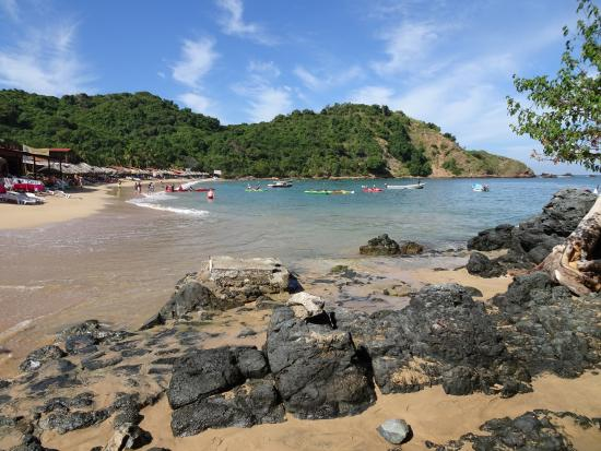 Ixtapa Island (Isla Ixtapa): Beautiful beach for swimming