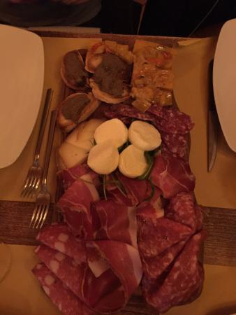 Vaglia, อิตาลี: tagliere