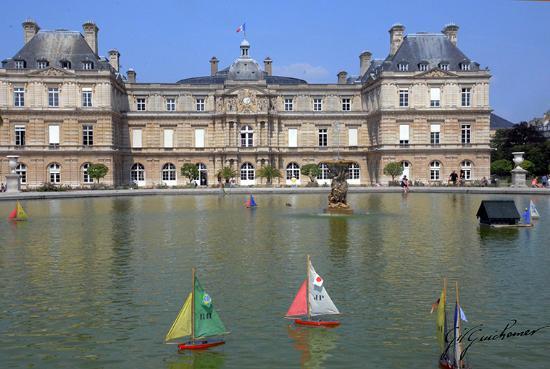 Paris, Frankrike: Les voiliers pour les enfants