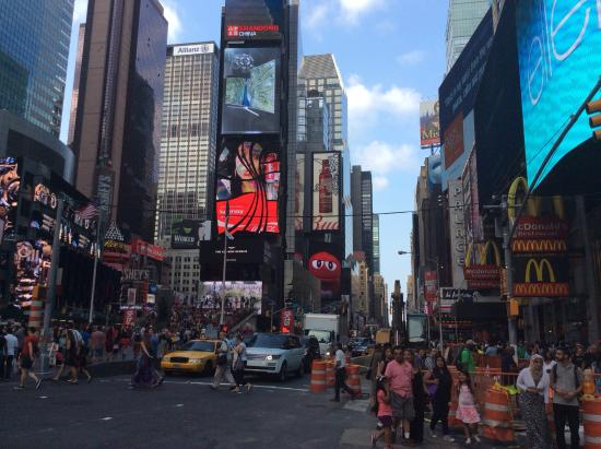 times square picture of shelburne hotel suites by affinia new