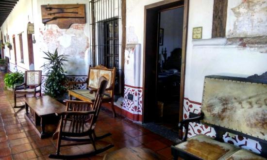 Hotel Posada de Don Rodrigo: Tomando un descanso.