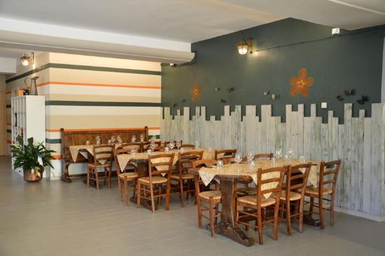 Ristorante Frangipane: interno ristorante