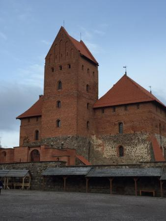 Trakai, Litwa: 特拉凱城堡