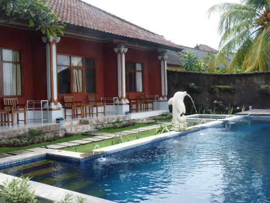 Temukus, Indonesia: pool in the hotel, nice pictures, but water wasn't clear