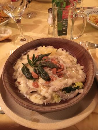 Madesimo, Italia: Delicious Pizzocheri