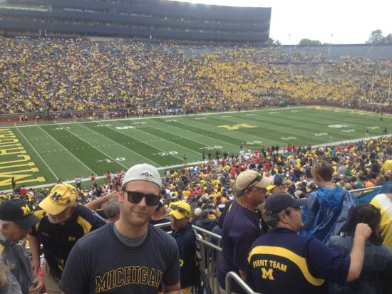 "Ann Arbor, MI: Welcome to the ""BIG HOUSE""  Game against Utah in September 2014 Great atmosphere and attendance"