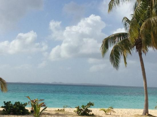 The Valley, Anguilla: From inside looking out on the water
