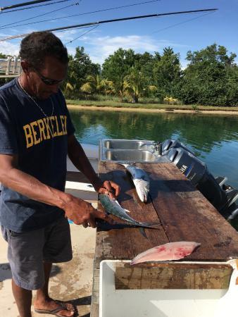 Placência, Belize: Dinner!