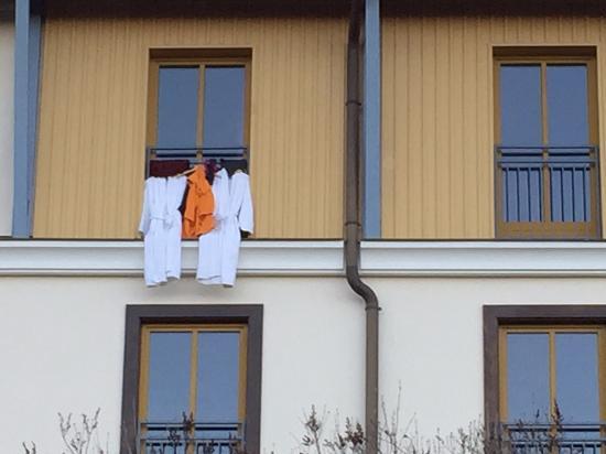 Ampflwang, Αυστρία: so hängen die leute ihre wäsche zum trocknen auf