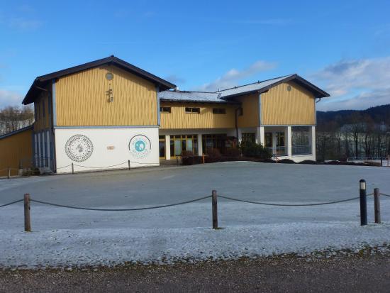 Ampflwang, Avusturya: clubhaus für reitanlage und golf