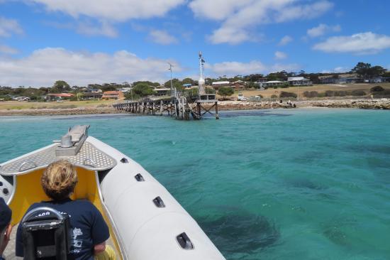 Kingscote, Australia: de boot