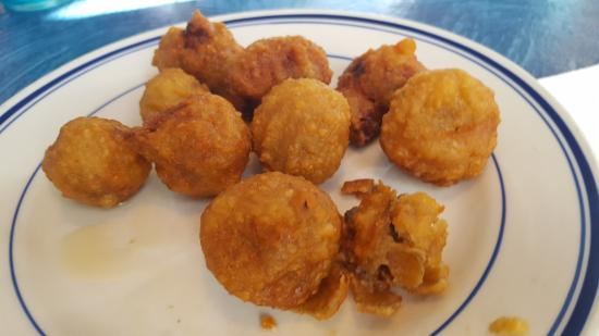 Norton, VA: Mushroom appetizer