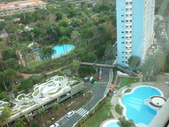 Uitzicht op de tuin picture of maritim hotel tenerife for Botanische tuin tenerife