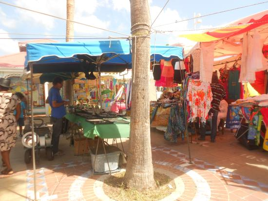 Sint Maarten, Άγιος Μαρτίνος: Marigot market