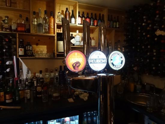 Congleton, UK: Bar area