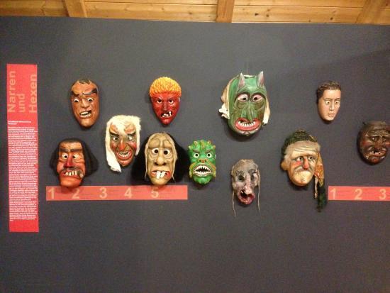 Schoengeising, Duitsland: Sonderausstellung Masken, Perchten,Butzen, Habergeis