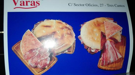 Tres Cantos, Spanien: Restaurante Varas