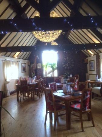 Ashbourne, UK: Second part of restaurant look great
