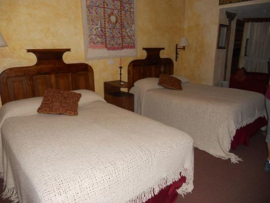 Hacienda Cusin: Our Bedroom