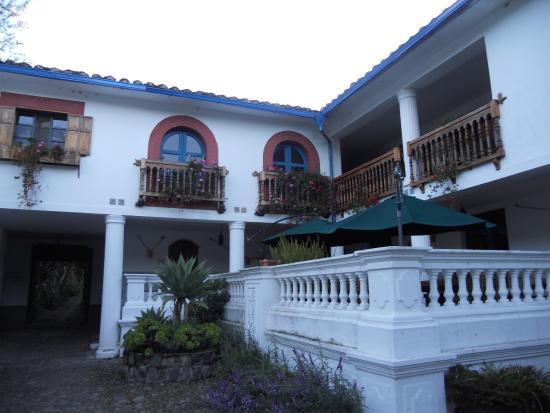 Hacienda Cusin: Part of the Main Building