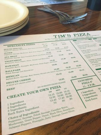 Independence, MO: Tim's Pizza