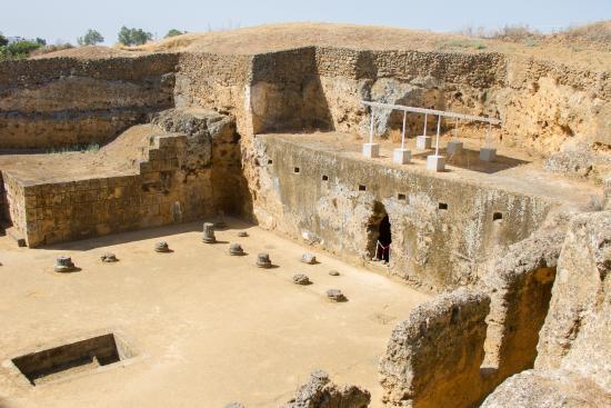 Carmona, Spanyol: A part of Roman Necropolis