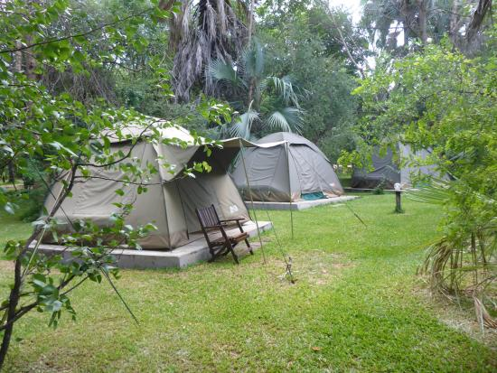 Victoria Falls Waterfront The Tent Village & The Tent Village - Picture of Victoria Falls Waterfront Livingstone ...
